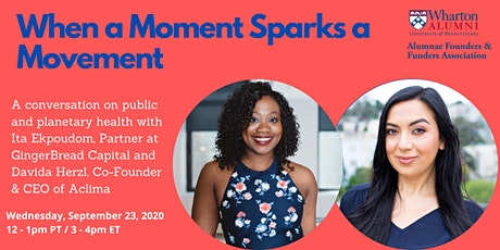 When a Moment Sparks a Movement tickets