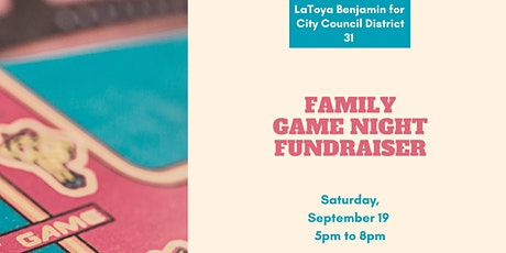 Family Game Night Fundraiser tickets