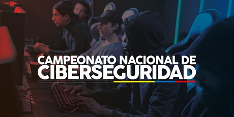 Primer Campeonato Nacional de Ciberseguridad del Ecuador entradas