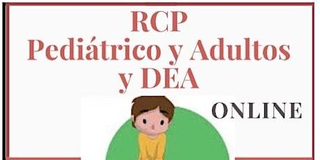 Curso RCP Pediátrico y Adultos y uso del DEA (desfibrilador)  Video entradas