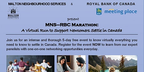 MNS - RBC Marathon: A Virtual Run to Support Newcomers Settle in Canada tickets