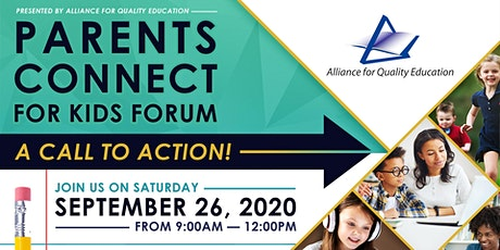 Parents Connect for Kids Forum by AQE tickets