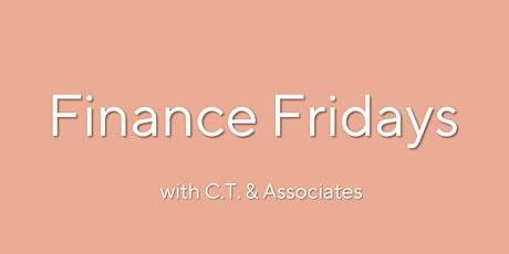 Finance Fridays: Budgeting and Debt - CT and Associates Free 30 min Webinar tickets