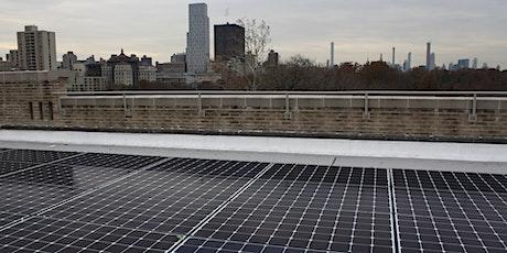 Solar One Virtual Workshop Series - Solar for Community Organizers tickets