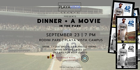 Dinner + A Movie in The Park tickets
