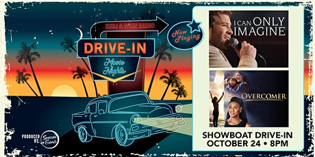 "Drive-In Movie Night featuring ""I Can Only Imagine"" and ""Overcomer"" tickets"