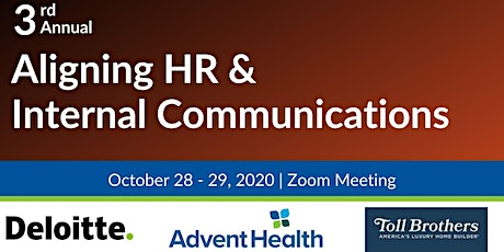 3rd Annual Aligning HR and Internal Communications-VIRTUAL tickets