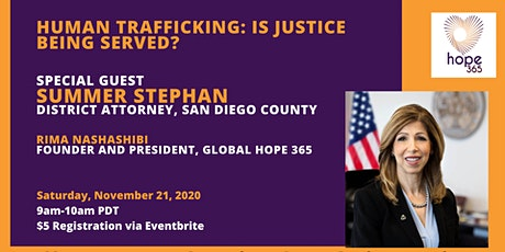 Global Hope 365 Coffee Meet Up with Summer Stephan tickets