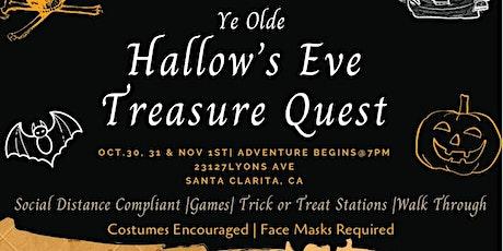 Ye Olde Hallow's Eve Treasure Quest tickets