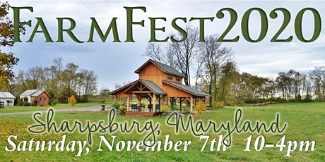 FarmFest2020 -Vendor Registration  **Sharpsburg Swap on November 7th tickets