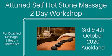 Hot Stone Massage 2 Day Workshop tickets