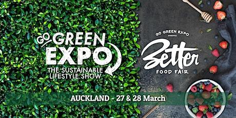 Auckland Go Green Expo & Better Food Fair 2021 tickets