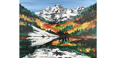 "Mimosa Class: ""Maroon Bells"" Saturday September 26th 11:30AM $25 tickets"