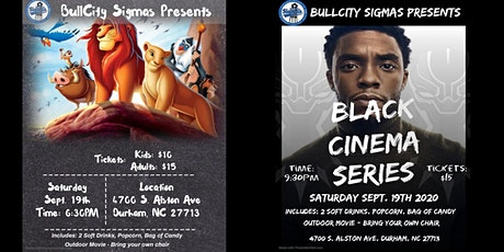 Bull City Sigmas Present: Outdoor Movies Nights tickets