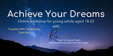 Achieve Your Dreams tickets
