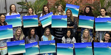 A Brush with Vino  - Social Painting Night tickets