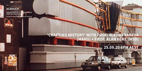 ACAHUCH + CCPD: Dr Albena Yaneva  (Manchester Architecture Research Group) tickets