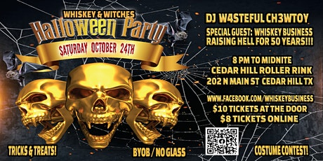 WHISKEY N WITCHES ADULT HALLOWEEN PARTY tickets