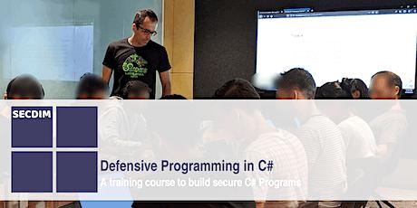 Defensive Programming in C# - Live Online tickets