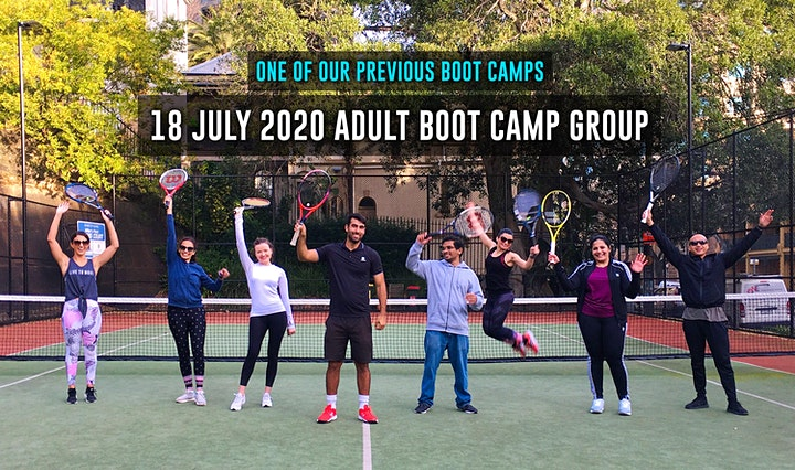 3-hour Tennis Boot Camp For Adult Beginners image