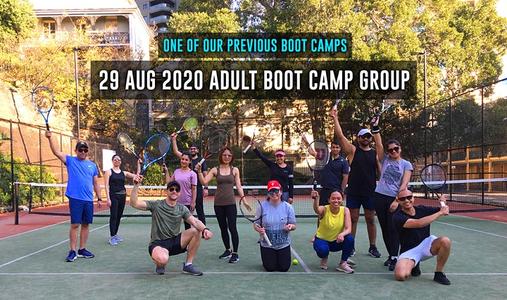 3-hour Tennis Serving Boot Camp For Adults image