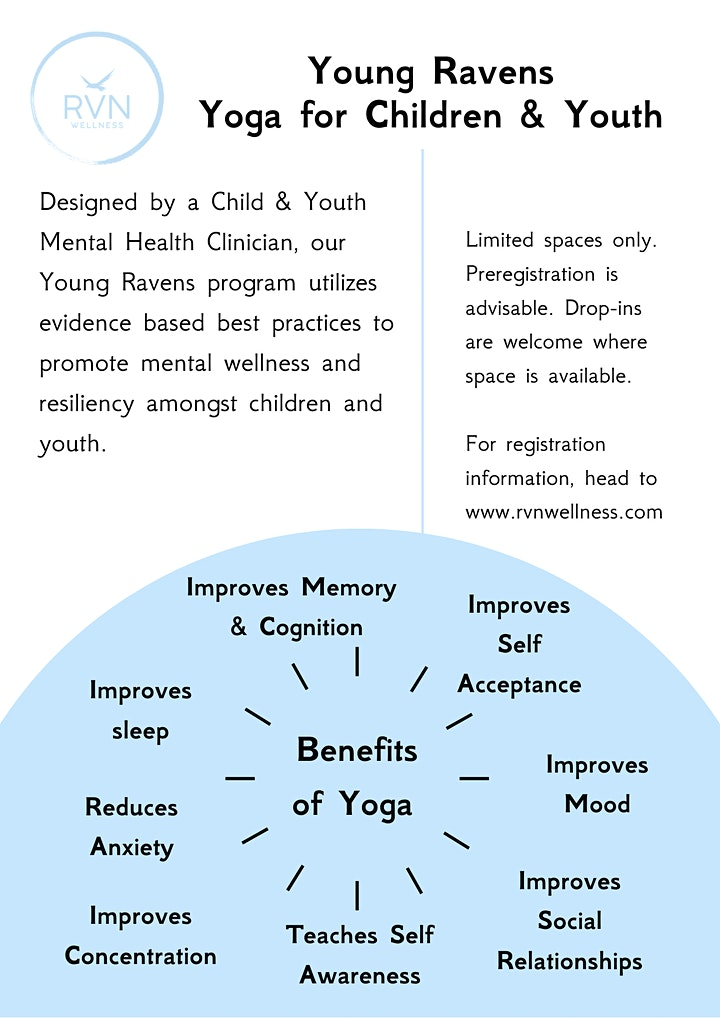 After school yoga for kids in grades 6-8 in Port Moody image