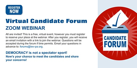 Pasadena School District (Areas 2, 4, 6) Candidate Forum tickets