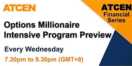 Options Millionaire Intensive Program Preview Tickets