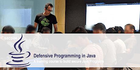 Defensive Programming in Java - Live Online tickets