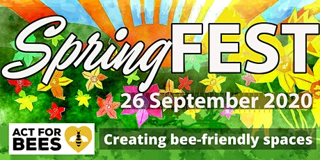 SpringFEST: Creating bee-friendly spaces with ACT for Bees tickets