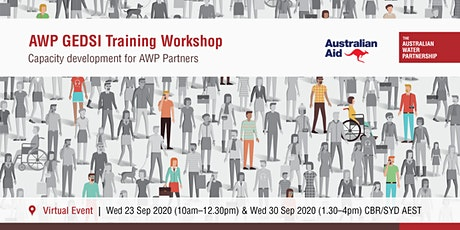 AWP Gender Equality, Disability and Social Inclusion Training Workshop tickets