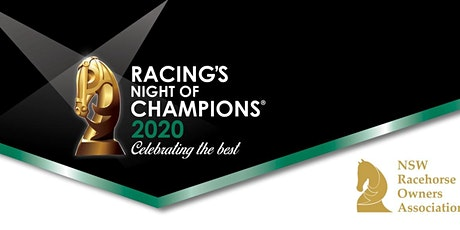 NSWROA's Racing's Night of Champions tickets