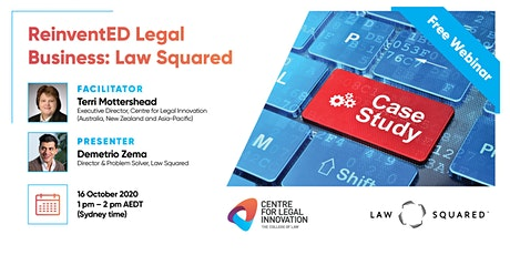 CLI's ReinventED Legal Business: The Case Studies - Law Squared tickets