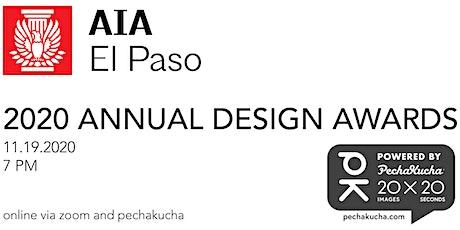 AIA El Paso Design Awards - powered by PechaKucha tickets