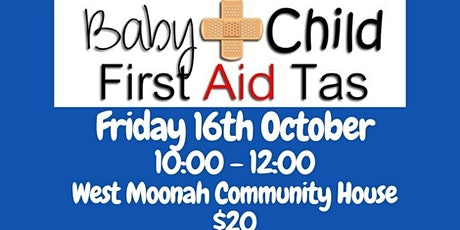 Baby & Child First Aid at West Moonah Community House tickets