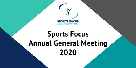 Sports Focus 2020 Annual General Meeting tickets