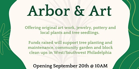 @ArborAndArt: An Online Auction for a Greener West/Southwest Philly tickets