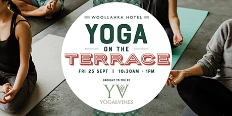 Yoga on the Terrace tickets