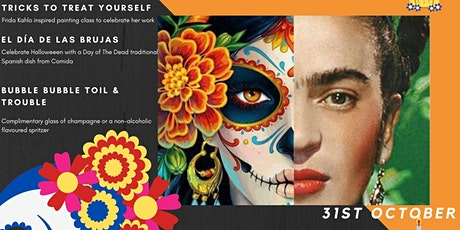 The PaintBox and Comida: Free Your Inner Frida tickets