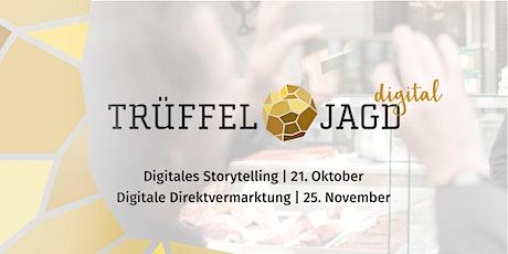 Trüffeljagd digital #1: Digitales Storytelling Tickets