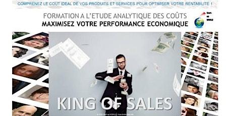 King of Sales - Formation à l'étude analytique des coûts tickets