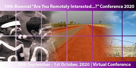 """Are You Remotely Interested..?"" 2020 Virtual Conference JCU Murtupuni CRRH tickets"