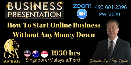 How To Start Online Business Without Any Money Down tickets