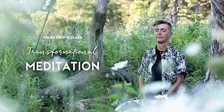 Transformational Meditation – Nov 22 - Online Drop-in Class tickets