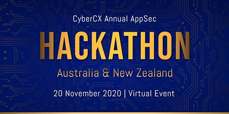 CyberCX  Application Security Hackathon 2020 tickets