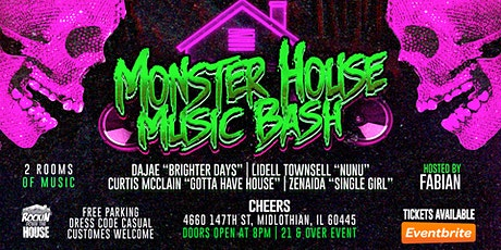 Monster House Music Bash tickets