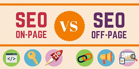 On-Page SEO vs Off-Page SEO: Why It Matters [Free Webinar] Sacramento tickets