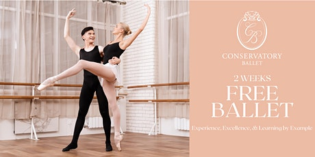 TWO WEEKS FREE Virtual Ballet Class for Adults tickets