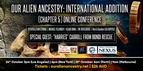 Our Alien Ancestry: What Comes Next - International - Chapter 5 (Online) tickets