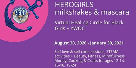 HEROGirls {Milkshakes & Mascara} Fall/Winter 2020 tickets